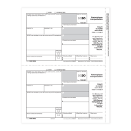 Picture for manufacturer Form 1099-NEC - Copy C Payer (NEC5112)