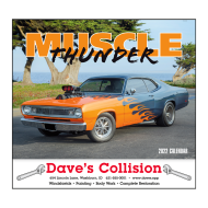 Picture for manufacturer Muscle Thunder Wall Calendar