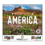 Picture for manufacturer Beautiful America Wall Calendar