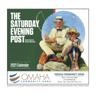 Picture for manufacturer The Saturday Evening Post Wall Calendar - Stapled
