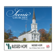 Picture for manufacturer Scenic Churches Wall Calendar