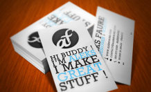 Bored with your Business Card?