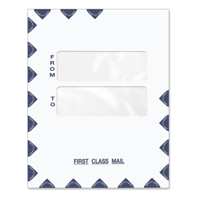 Picture of 9.5 x 12 Double Window Tax Software Envelope