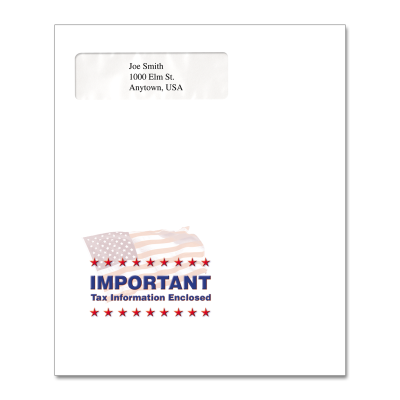 Picture of Multi-Purpose Tax Return Envelope (Flag Important)