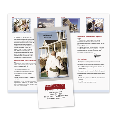 Picture of Agency Capabilities Brochure Style 507