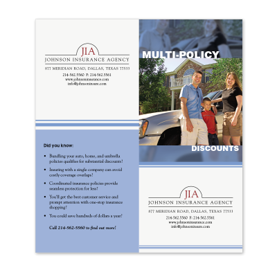 Picture of Multi-Policy Cross-Sell Brochure