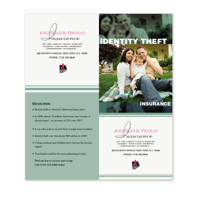 Picture of Identity Theft Cross-Sell Brochure