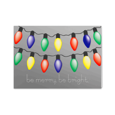 Picture of Festive Lights Greeting Card