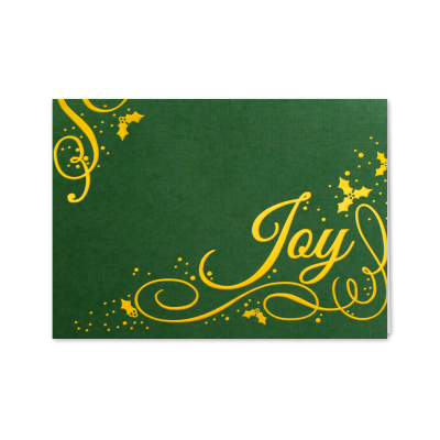 Picture of Holly Berry Joy Greeting Card
