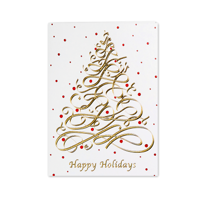 Picture of Modern Tree Greeting Card