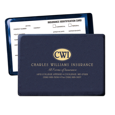 Picture of New York State Insurance Card Holder