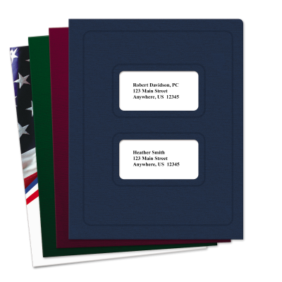 Picture of Large Window Tax Software Folders