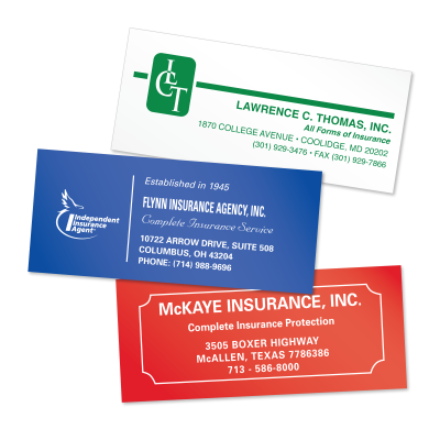 Picture of Insurance Policy Labels