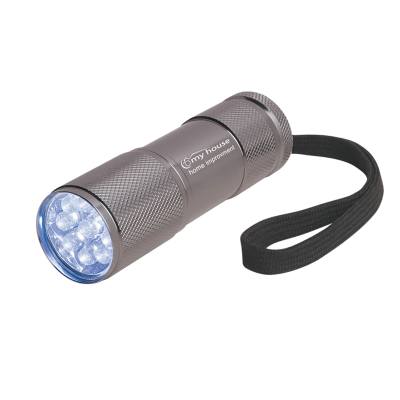Picture of The Stubby Aluminum LED Flashlight With Strap