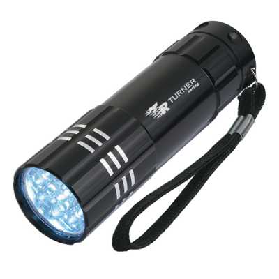 Picture of Aluminum LED Flashlight With Strap