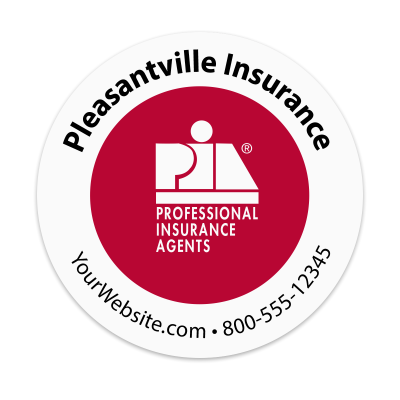 Picture of PIA - Insurance Agency Sticker