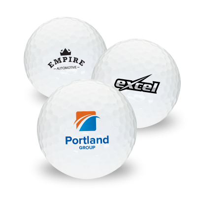 Picture of Logo Printed Golf Balls
