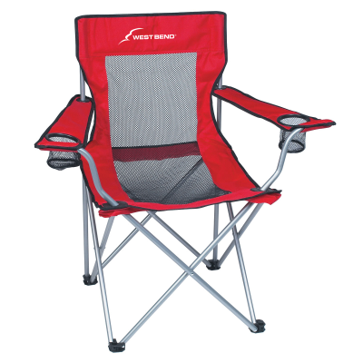 Picture of Mesh Folding Chair With Carrying Bag