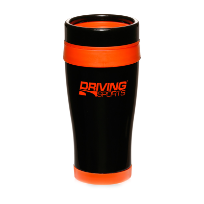 Picture of Black Stainless Steel 16 oz. Traveler Mug