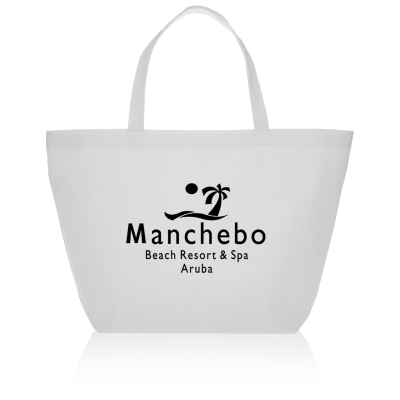 Picture of Non-Woven Budget Shopper Tote Bag - 20 x 13 x 8