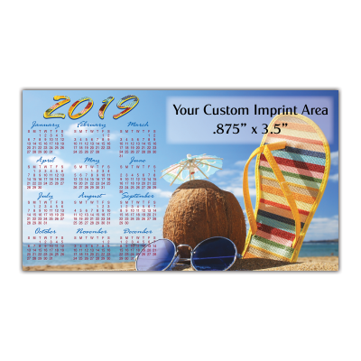 Picture of Calendar Magnet - Beach Fun
