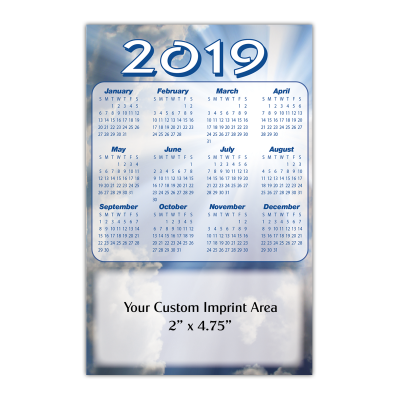 Picture of Calendar Magnet - Heavenly