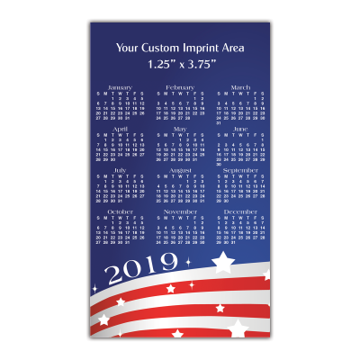 Calendar Magnet Usa Mines Press