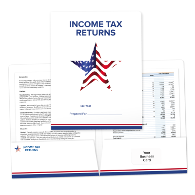 Picture of American Star Income Tax Return Folders
