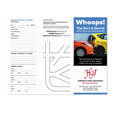 Picture of Whoops Brochure