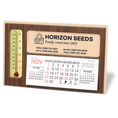 Picture of Thermometer Desk Calendar