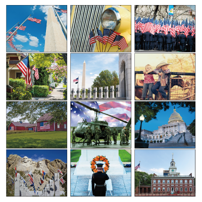 Picture of I Love America Wall Calendar
