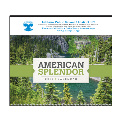 Picture of Scenic American Splendor Large Wall Calendar