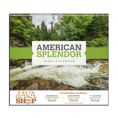 Picture of American Splendor Wall Calendar