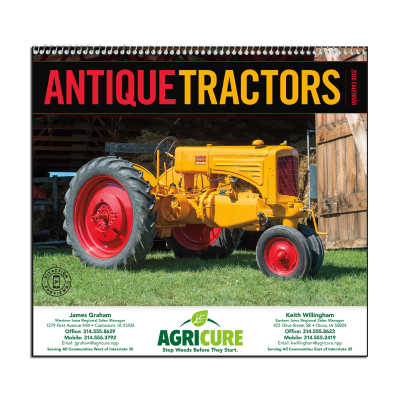 Picture of Antique Tractors Wall Calendar