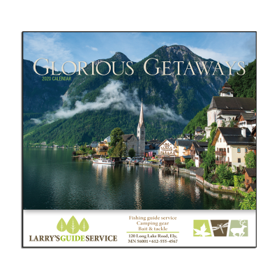 Picture of Glorious Getaways Wall Calendar