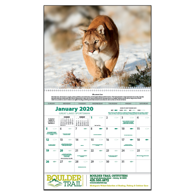 Picture of Great Lakes Sportsman Wall Calendar