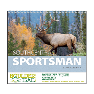 Picture of Southcentral Sportsman Wall Calendar