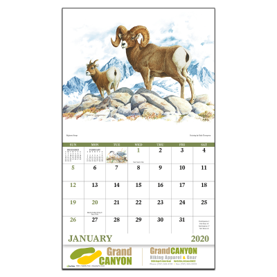Picture of Wildlife Trek Wall Calendar