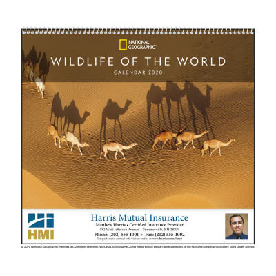 Picture of National Geographic Wildlife of the World Wall Calendar