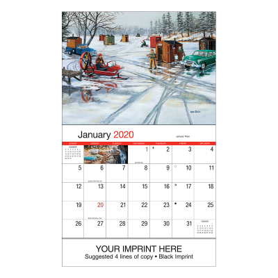 Picture of America Remembered Wall Calendar