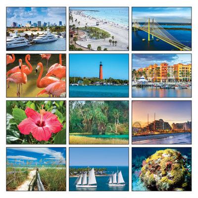 Picture of Florida State Wall Calendar