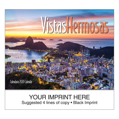Picture of Vistas Hermosas Wall Calendar