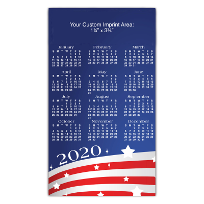 Picture of USA Calendar Magnet