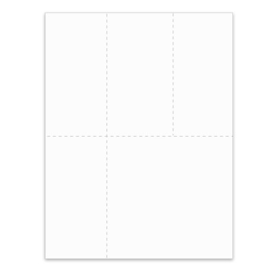Picture of 4-Up Universal Blank W/2/1099 Form (LU4)