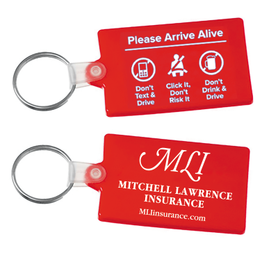 Picture of Please Arrive Alive Key Tag