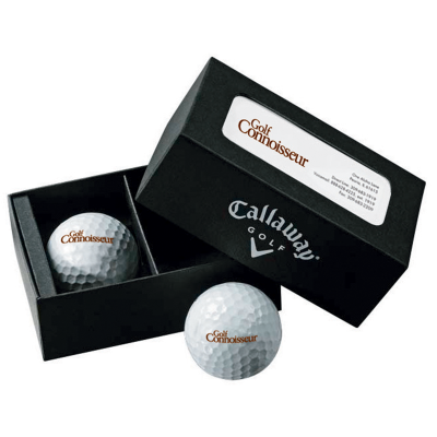 Picture of Callaway® Warbird Golf Balls in Business Card Box
