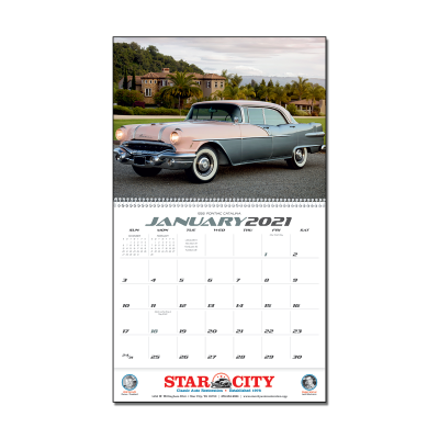 Picture of Classic Cars Wall Calendar