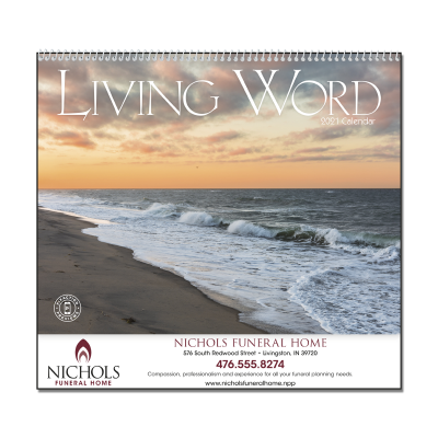 Picture of Living Word Wall Calendar