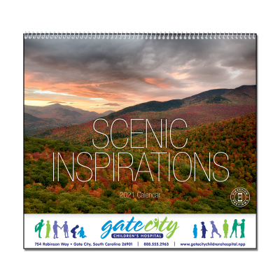 Picture of Scenic Inspirations Wall Calendar