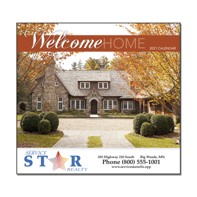 Picture of Welcome Home Wall Calendar